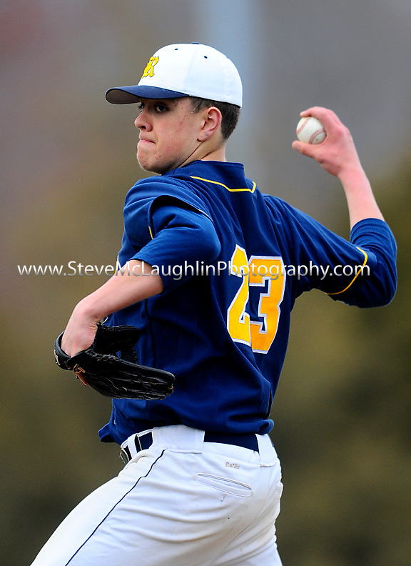 RHAM visited Berlin Wednesday in what turned out to be a pitcher duel.  Berlin came away with the 2-1 victory with a walk off single.