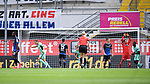 Jubel ueber das 0:1 durch Torschuetze Robert Skov (Hoffenheim, l.) <br />