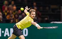 Rotterdam, The Netherlands, 17 Februari 2019, ABNAMRO World Tennis Tournament, Ahoy, Semis, Stan Wawrinka (SUI),<br /> Photo: www.tennisimages.com/Henk Koster