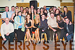 Bash: Enjoying the night at the 21st birthday of Sarah Counihan, Ballymacelligott (seated centre) in O Riadas Bar & Restaurant in Ballymac on Saturday along with family and friends..