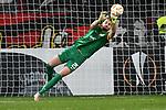 08.11.2018, BayArena, Leverkusen, Europaleque, Vorrunde, GER, UEFA EL, Bayer 04 Leverkusen (GER) vs. FC Zuerich (SUI),<br />  <br /> DFL regulations prohibit any use of photographs as image sequences and/or quasi-video<br /> <br /> im Bild / picture shows: <br /> Yanick Brecher (FC Zuerich #25), haelt einen Schuss von Leon Bailey (Leverkusen #9), <br /> <br /> Foto &copy; nordphoto / Meuter<br /> <br /> <br /> <br /> Foto &copy; nordphoto / Meuter
