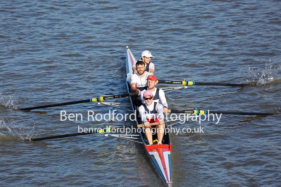 Crew: 237  COX (A)  City of Oxford RC (A Simmonds)  4- Chall<br /> <br /> Fours Head of the River 2018<br /> <br /> To purchase this photo, or to see pricing information for Prints and Downloads, click the blue 'Add to Cart' button at the top-right of the page.