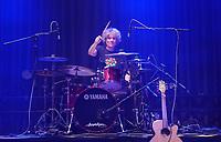 Orange Box und Schlagzeuger Herb Jösch (The Heavytones) - 18.10.2019: Kerberöffnung in Mörfelden