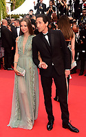 www.acepixs.com<br /> <br /> May 23 2017, Cannes<br /> <br /> Lara Lieto (L) and Adrien Brody arriving at the 70th Anniversary of the annual Cannes Film Festival at Palais des Festivals on May 23, 2017 in Cannes, France.<br /> <br /> By Line: Famous/ACE Pictures<br /> <br /> <br /> ACE Pictures Inc<br /> Tel: 6467670430<br /> Email: info@acepixs.com<br /> www.acepixs.com