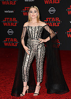 Meg Donnelly at the world premiere for &quot;Star Wars: The Last Jedi&quot; at the Shrine Auditorium. Los Angeles, USA 09 December  2017<br /> Picture: Paul Smith/Featureflash/SilverHub 0208 004 5359 sales@silverhubmedia.com