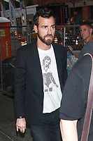 Justin Theroux Seen In New York City