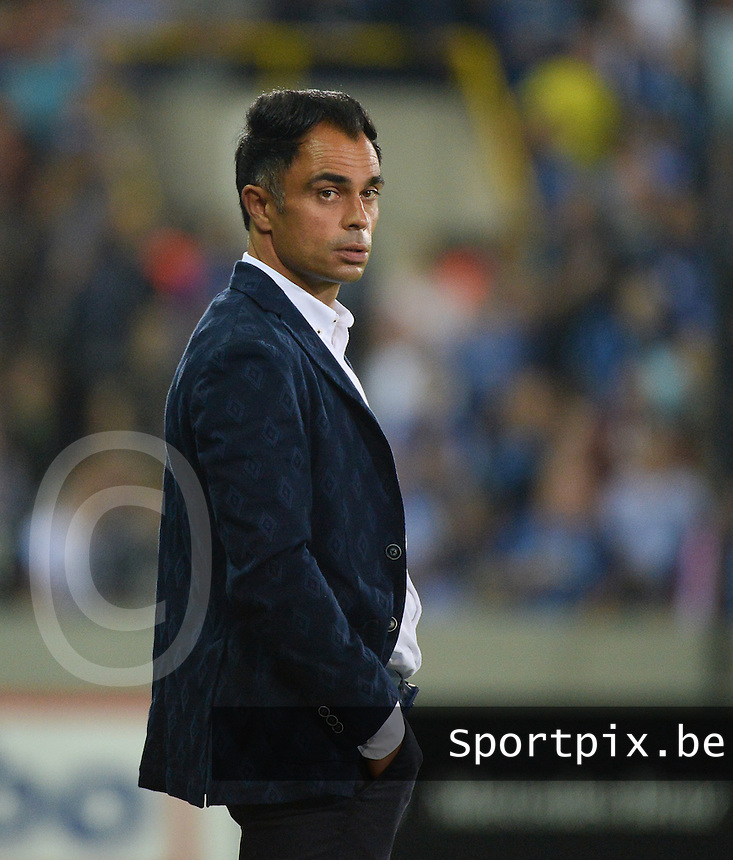 Club Brugge - KV Kortrijk : Johan Walem <br /> Foto VDB / Bart Vandenbroucke