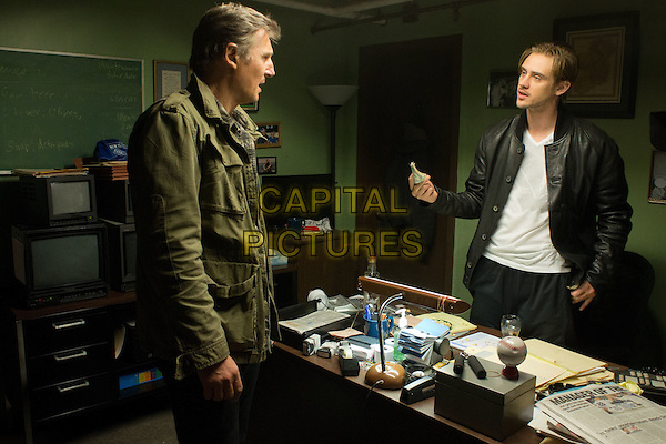 LIAM NEESON as Jimmy Conlon and BOYD HOLBROOK as Danny Maguire in Warner Bros. Pictures' action thriller &quot;RUN ALL NIGHT,&quot; a Warner Bros. Pictures release.<br /> *Filmstill - Editorial Use Only*<br /> CAP/NFS<br /> Image supplied by Capital Pictures