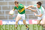 Donnchadh Walsh shakes off Limerick's Pa Ranahan in the Muster Senior Semi final held in The Gaelic Grounds last Saturday evening.