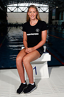 Bobbi Gichard, New Zealand swimming team announcement for the 2018 Commonwealth Games. Sir Owen G. Glenn National Aquatic Centre, Auckland. 22 December 2017. Copyright Image: William Booth / www.photosport.nz