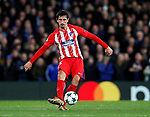 Atletico Madrid's Stefan Savic in action during the Champions League Group C match at the Stamford Bridge, London. Picture date: December 5th 2017. Picture credit should read: David Klein/Sportimage