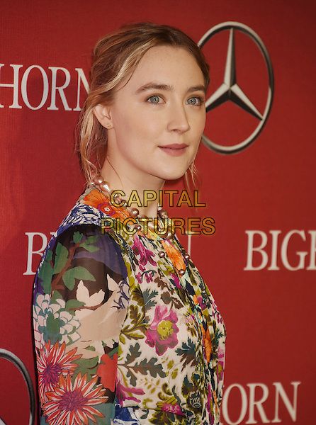PALM SPRINGS, CA - JANUARY 02: Actress Saoirse Ronan attends the 27th Annual Palm Springs International Film Festival Awards Gala at Palm Springs Convention Center on January 2, 2016 in Palm Springs, California.<br /> CAP/ROT/TM<br /> &copy;TM/ROT/Capital Pictures