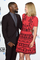"David Oyelowo and Rosamund Pike<br /> at the London Film Festival photocall for the opening film, ""A United Kingdom"", Mayfair HotelLondon.<br /> <br /> <br /> ©Ash Knotek  D3159  05/10/2016"