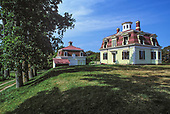 Edward Penniman House and Barn, Fort Hill, Eastham. Cape Cod, Massachusetts, USA