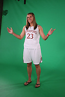 SAN ANTONIO, TX - APRIL 2:  Jeanette Pohlen at the Final Four media day on April 2, 2010 in San Antonio, Texas.