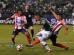Deportivo Cali igualó como local 1-1 ante Junior. Ida de la segunda ronda Copa Sudamericana 2017.