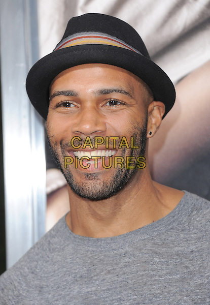 "Omari Hardwick.""The Words"" Los Angeles Premiere held at Arclight Cinemas, Hollywood, California, USA..September 4th, 2012.headshot portrait black hat grey gray beard facial hair .CAP/RKE/DVS.©DVS/RockinExposures/Capital Pictures."