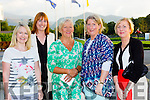 Laura Fee, Nicola Dickson, Sheila Goulding, Norma O'connor, and Margaret butler  at the Kerry Hospice fashion show in the INEC on Wednesday night