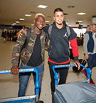 Dalcio and Fabio Cardoso arrive in Glasgow this morning from Lisbon