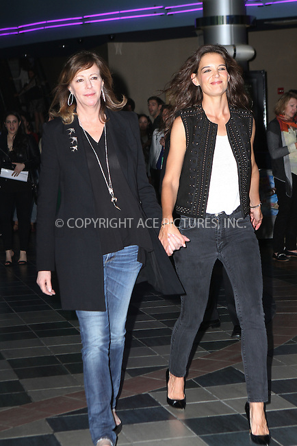 WWW.ACEPIXS.COM<br /> <br /> April 17, 2015 New York City<br /> <br /> Jane Rosenthal (L) and Katie Holmes at the premiere of 'Eternal Princess' at the Shorts Program during the 2015 Tribeca Film Festival at Regal Battery Park 11 on April 17, 2015 in New York City.<br /> <br /> By Line: Nancy Rivera/ACE Pictures<br /> <br /> <br /> ACE Pictures, Inc.<br /> tel: 646 769 0430<br /> Email: info@acepixs.com<br /> www.acepixs.com