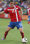 13 JUN 2010: Nenad Milijas (SRB). The Serbia National Team lost 0-1 to the Ghana National Team at Loftus Versfeld Stadium in Tshwane/Pretoria, South Africa in a 2010 FIFA World Cup Group D match.