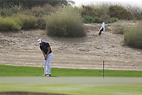 Martin Kaymer (GER) on the 3rd during Round 1 of the Omega Dubai Desert Classic, Emirates Golf Club, Dubai,  United Arab Emirates. 24/01/2019<br /> Picture: Golffile | Thos Caffrey<br /> <br /> <br /> All photo usage must carry mandatory copyright credit (&copy; Golffile | Thos Caffrey)