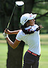 Malini Rudra of Syosset tees off on the 17th Hole of Bethpage State Park's Green Course during the varsity girls' golf Long Island team championship against Smithtown East on Wednesday, June 3, 2015. She shot an 11-over 82 to help Syosset to a 421-444 victory.<br /> <br /> James Escher