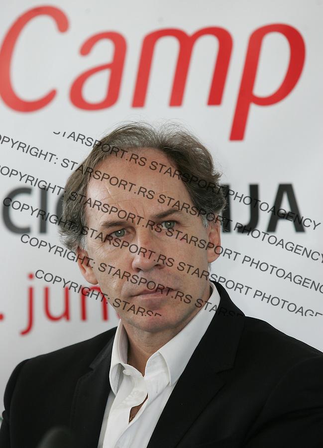 Fudbal.Promocija fudbalsko kampa AC MIlan, Italy.Franco Baresi.Belgrade, 11.05.2012..foto: Srdjan Stevanovic/Starsportphoto ©