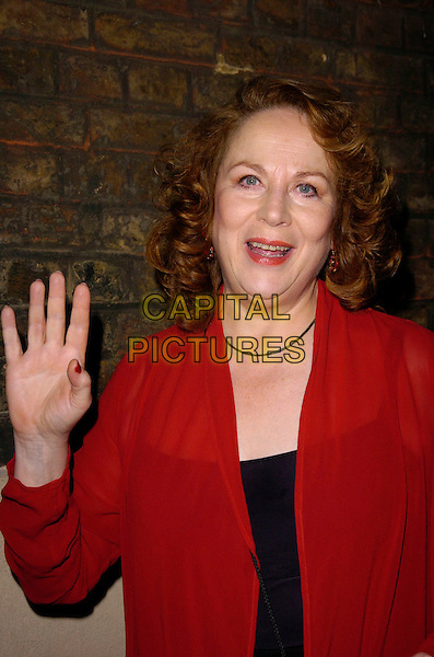 "PAM FERRIS.""The Entertainer"" press night, Old Vic Theatre, London, UK..March 7th, 2007.full length hand waving .CAP/CAN.©Can Nguyen/Capital Pictures"