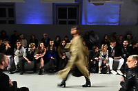 LISBOA, PORTUGAL, 08.03.2020 -MODA LISBOA AWAKE - Modelo durante desfile da grife Ninamounah em Lisboa, Portugal, nesse domingo 08. (Foto: Bruno de Carvalho/Brazil Photo Press)