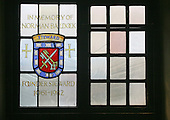 Memorial window in honour of Norman Baldock, founder steward, Guildford Cathedral.