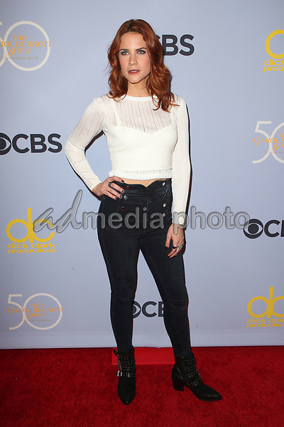 "04 October 2017 - Los Angeles, California - Courtney Hope. CBS ""The Carol Burnett Show 50th Anniversary Special"". Photo Credit: F. Sadou/AdMedia"