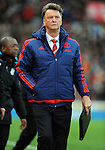 An unhappy Manchester United Manager Louis van Gaal at the end of the game<br /> - Barclays Premier League - Stoke City vs Manchester United - Britannia Stadium - Stoke on Trent - England - 26th December 2015 - Pic Robin Parker/Sportimage