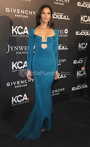 New York, NY- October 30: Padma Lakshmi attends Keep a Child Alive's 11Annual Black Ball at Hammerstein Ballroom on October 30, 2014 in New York City. Credit: John Palmer/MediaPunch