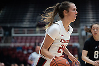 Stanford, Ca - October 29, 2019: The Stanford Cardinal opens the 2019 season with a 100-58  win over Beijing Normal at Maples Pavilion.