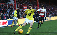 Blackburn Rovers' Craig Conway<br /> <br /> Photographer Rob Newell/CameraSport<br /> <br /> The EFL Sky Bet Championship - Brentford v Blackburn Rovers - Saturday 2nd February 2019 - Griffin Park - Brentford<br /> <br /> World Copyright © 2019 CameraSport. All rights reserved. 43 Linden Ave. Countesthorpe. Leicester. England. LE8 5PG - Tel: +44 (0) 116 277 4147 - admin@camerasport.com - www.camerasport.com