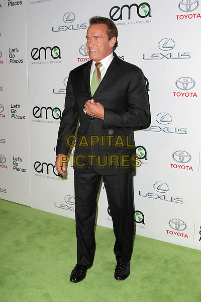 18 October 2014 - Burbank, California - Arnold Schwarzenegger. 24th Annual Environmental Media Awards Presented By Toyota And Lexus Held at The Warner Brothers Studios.   <br /> CAP/ADM/FS<br /> &copy;Faye Sadou/AdMedia/Capital Pictures