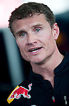 David Coulthard talks during the Red Bull Speed Street Kuala Lumpur, at the main shopping street Jalan Buit Bintang in Kuala Lumpur, Malaysia on 3rd April 2011. Photo by Victor Fraile / The Power of Sport Images for Red Bull