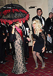 """Bette Midler and Katie Couric  attending Bette Midler's New York Restoration Project's Annual """"Hulaween in the Big Easy"""" at  the Waldorf Astoria on October 31, 2013  in New York City."""