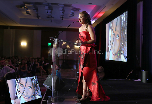HOLLYWOOD, CA - SEPTEMBER 30: Kim Biddle, at The 6th Annual Saving Innocence Gala_Insde at Loews Hollywood Hotel, California on September 30, 2017. Credit: Faye Sadou/MediaPunch
