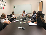 IMM meeting in Arlington, TX on Monday July 22, 2018.
