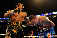 Anthony Yarde (black shorts) defeats Darius Sek during a Boxing Show at the The O2 Arena on 23rd June 2018