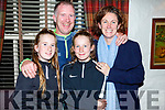 The Gentleman family from Tralee enjoying a night out in Cassidys on Friday night. L-r, Tony, Anna, Amy and Brid Gentleman.