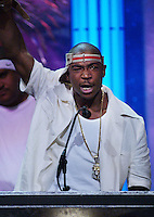Ja Rule accept an award at The Source Hip-Hop Music Awards 2001 at the Jackie Gleason Theater in Miami Beach, Florida.  8/20/01  Photo by Scott Gries/ImageDirect