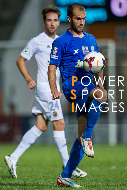 Ivan Moya of BC Ranger FC during LFP World Challenge 2014 between Valencia CF vs BC Rangers FC on May 28, 2014 at the Mongkok Stadium in Hong Kong, China. Photo by Victor Fraile / Power Sport Images