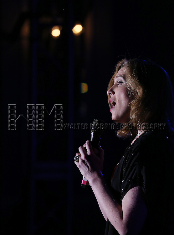 Kate Jennings Grant performs during the Drama League's 30th Annual 'Musical Celebration of Broadway' honoring Neil Patrick Harris at the Pierre Hotel on February 3, 2014 in New York City.