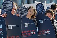 2013/10/01 Berlin | Caritas-Aktion vor Reichstag