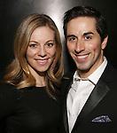Kirsten Scott and Matthew Scott attend the DGF Reception for Andrew Lippa & Friends at Landmarc on February 1, 2017 in New York City.