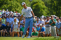 Billy Horschel (USA) watches his tee shot on 6 during 3rd round of the 100th PGA Championship at Bellerive Country Club, St. Louis, Missouri. 8/11/2018.<br /> Picture: Golffile | Ken Murray<br /> <br /> All photo usage must carry mandatory copyright credit (&copy; Golffile | Ken Murray)