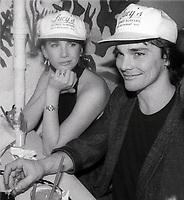 Melissa Gilbert and husband Bo Brinkman 1988<br /> Photo By John Barrett/PHOTOlink